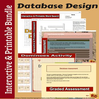 Database Interactive Bundle