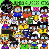Jumbo Glasses Kids {Creative Clips Clipart}
