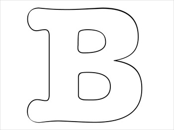 Jumbo Letters for Bulletin Board