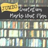 Jumbo Quotation Marks Activity Pack