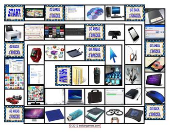 Jumbo Vocabulary Board Game Pack 4 Game Bundle