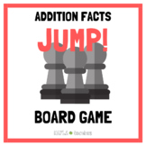 Jump! Addition Facts Game Cards (for use with Jump! Gamebo