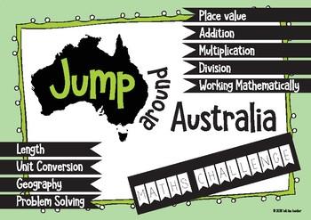 Jump Around Australia Maths Challenge