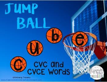 Jump Ball CVC and CVCE Words