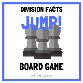 Jump! Division Facts Game Cards (for use with Jump! Gameboard Freebie)