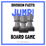 Jump! Division Facts Game Cards (for use with Jump! Gamebo