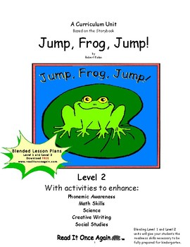Jump, Frog, Jump! Level 2 Digital Version