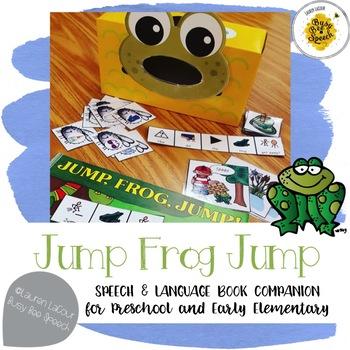 Jump Frog Jump - Speech & Language Book Companion