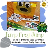 Jump Frog Jump - Speech & Language Book Companion