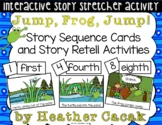 Jump, Frog, Jump! Story Sequence and Retelling Cards (Math
