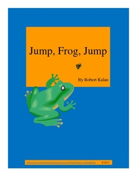 Jump, Frog, Jump by Robert Kalan reading unit printables