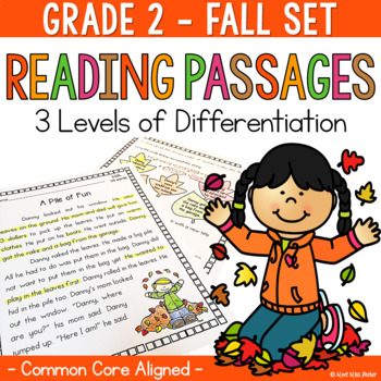 Differentiated Reading Passages Fall