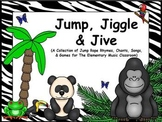 Jump, Jiggle, & Jive - A Collection of Jump Rope Rhymes, Chants, Songs, & Games