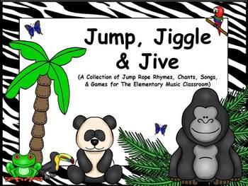 Jump, Jiggle, & Jive - A Collection of Jump Rope Rhymes, C