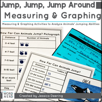 Jump, Jump, Jump Around- Measurement and Graphing Tasks