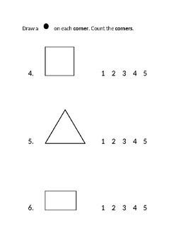Jump Math Kindergarten Unit 3 Test