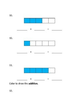 Jump Math Kindergarten Unit 7 Test