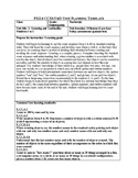 Jump Math Unit Plan- Unit 1- Counting and Cardinality- Num