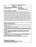 Jump Math Unit Plan- Unit 6- Measurement and Data- Categor
