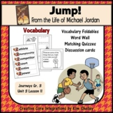 Jump! Michael Jordan Vocabulary