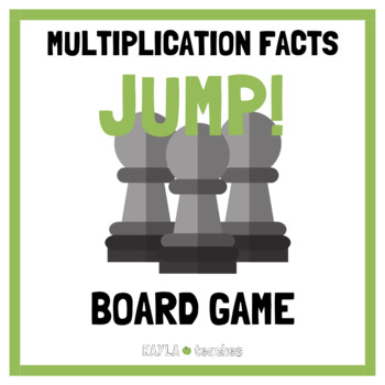 Jump! Multiplication Facts Game Cards (for use with Jump! Gameboard Freebie)