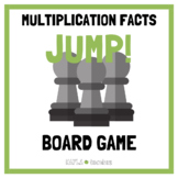 Jump! Multiplication Facts Game Cards (for use with Jump!