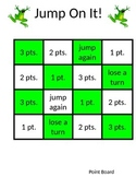 Jump On It!  2 Digit + 2 Digit Addition Game