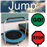 Jump Picture Communication for Movement and Learning