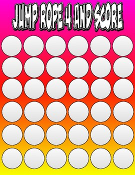 Jump Rope 4 and Score Game