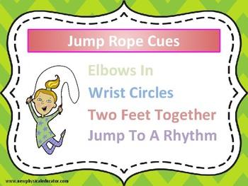 Jump Rope Cues