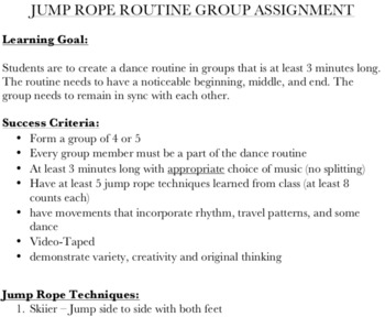 Jump Rope Fitness Unit Package