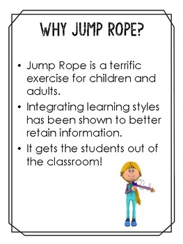 Jump Rope Games for Spelling, Math, and More