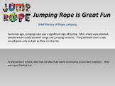Jump Rope Rhymes for all Ages