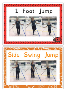 jump rope skill posters and routine maker by peforall9 tpt