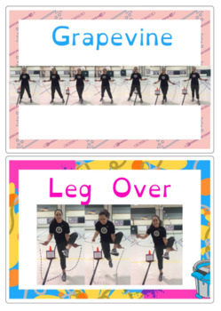 Jump Rope Skill Posters and Routine Maker