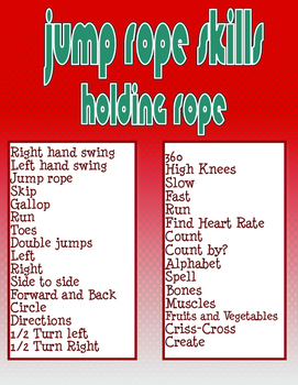 Jump Rope Skills Holding the Rope