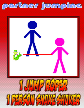 Jump Rope Skills Partner and Group