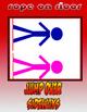 Jump Rope Skills Rope on Floor