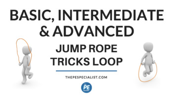 Value Pack: Jump Rope Tricks in PE - Videos and Animated GIF Resources