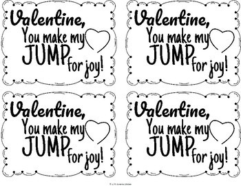 Jump Rope Valentines to Students