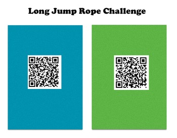 Jump Rope for Heart QR Code Challenge (Tablet / Ipad)