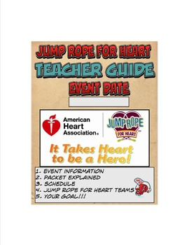 Jump Rope for Heart Teacher Guide