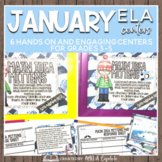 Jump Start January ELA Centers + Digital Bundle
