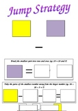 Jump Strategy Cards for 2-digit Subtraction