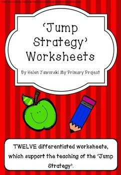 Jump Strategy Worksheets