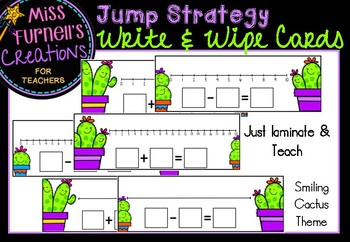Jump Strategy Write & Wipe Cards