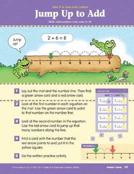 Jump Up to Add (Take It to Your Seat Centers Common Core Math)