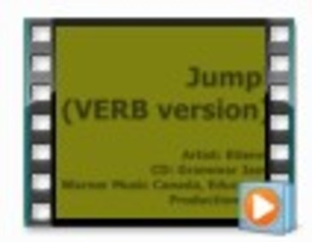 Jump! - VERB Version (Music Video) - from Grammar Jams CD& DVD