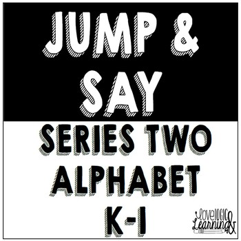 Jump and Say Series Two: Alphabet