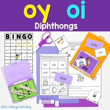 Jump for Joy! OY and OI Phonics Unit